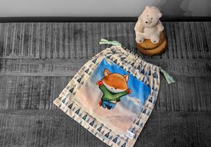 Pochette cadeau Renardeau – 29x26cm
