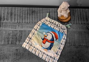 Pochette cadeau pingouin de Noël – 29x26cm