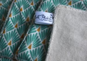 Coffret cadeau salle de bain – Écailles turquoise