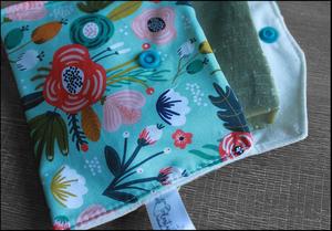 Coffret cadeau salle de bain – Vert d'eau fleuri