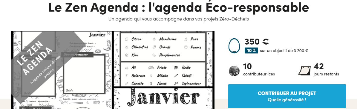 LeZenAgenda en partenariat avec Écolostris