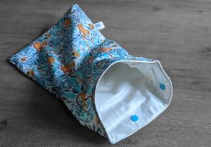 Sac à couches – Taille S (30x20cm) – Ecureuil